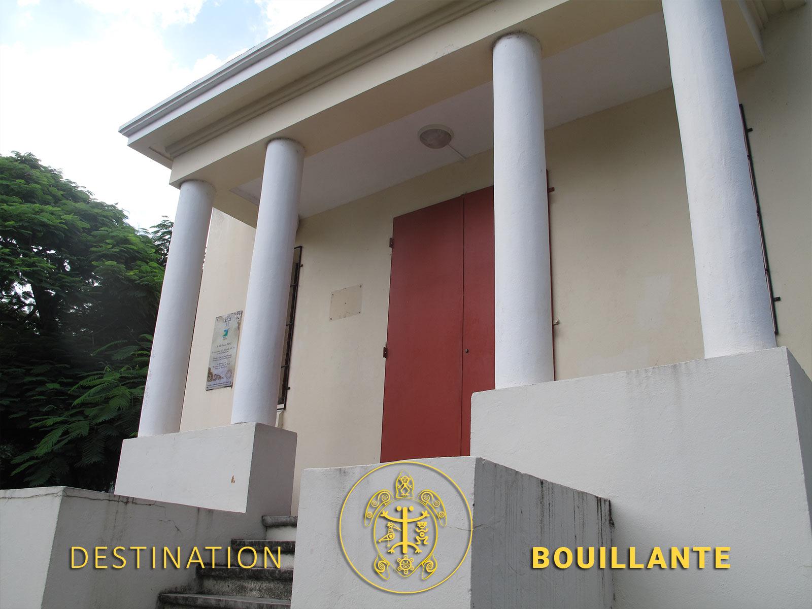 Chapelle Ali Tur - Pigeon, Bouillante