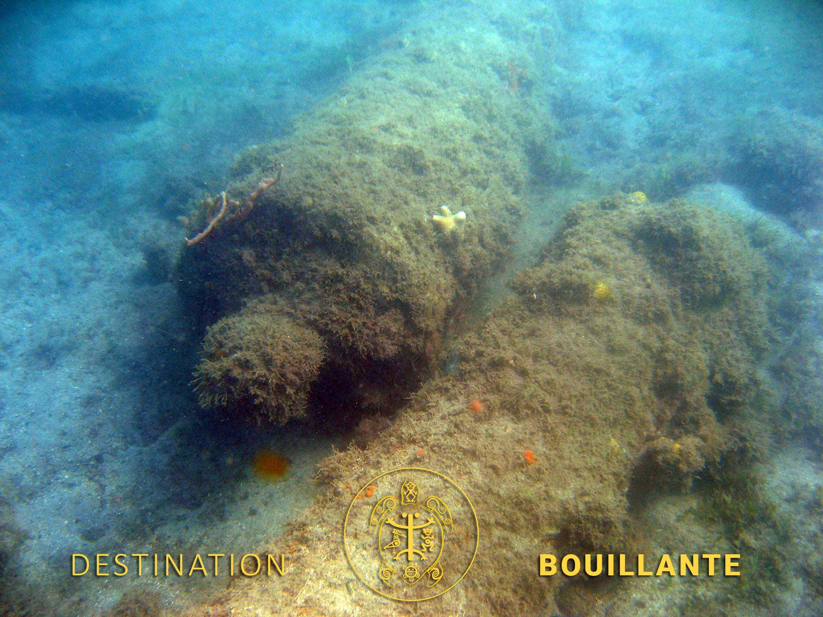 Epaves historique de l'Anse à la Barque