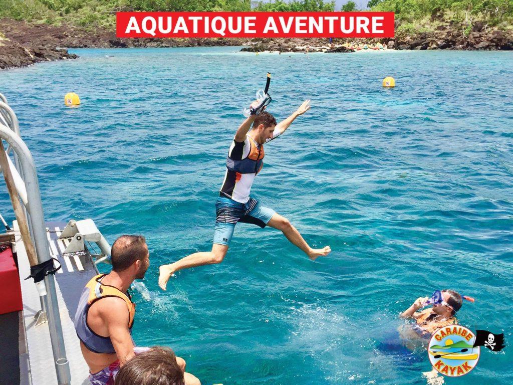 Aquatique Aventure – Snorkeling Réserve Cousteau