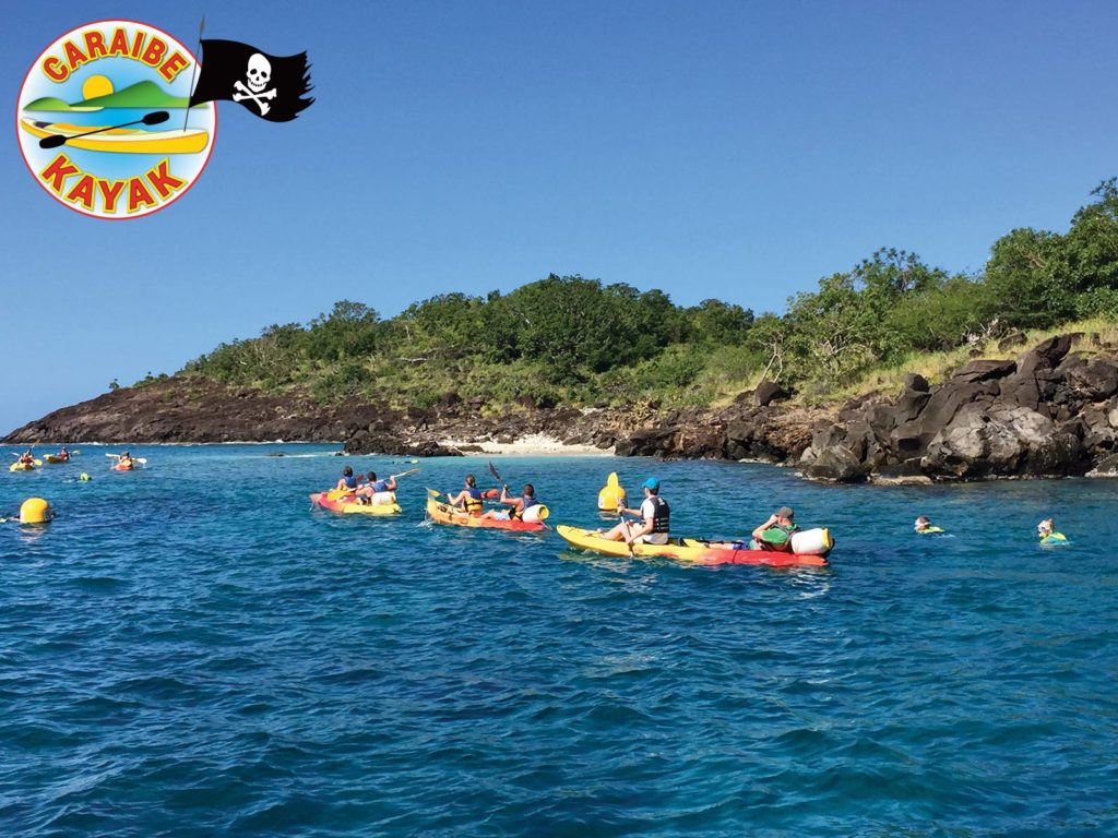 Caraïbe Kayak – kayak libre aux Ilets Pigeon
