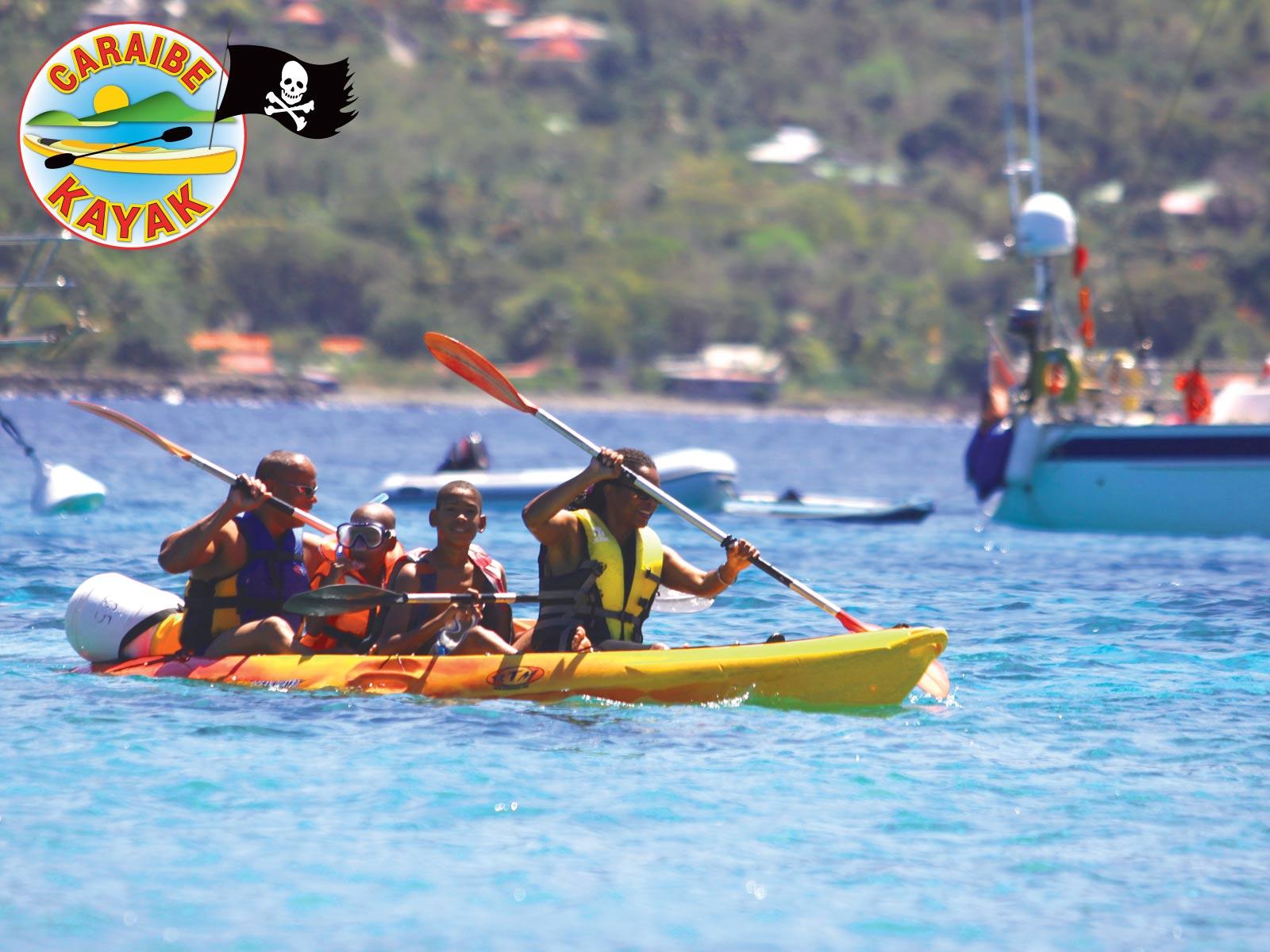 Caraïbe Kayak - Raid des Ilets