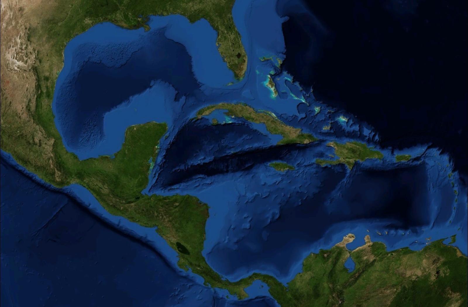 Géographie de la Caraïbe