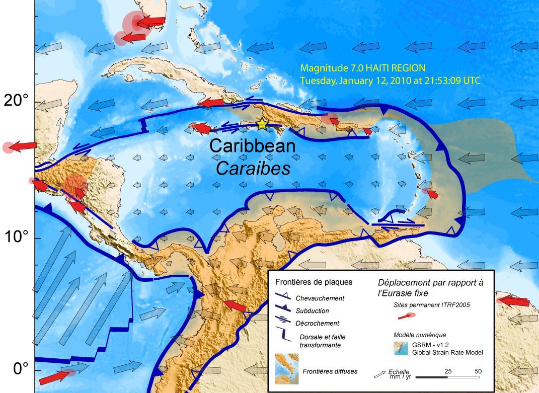 Plaque de la Caraïbe