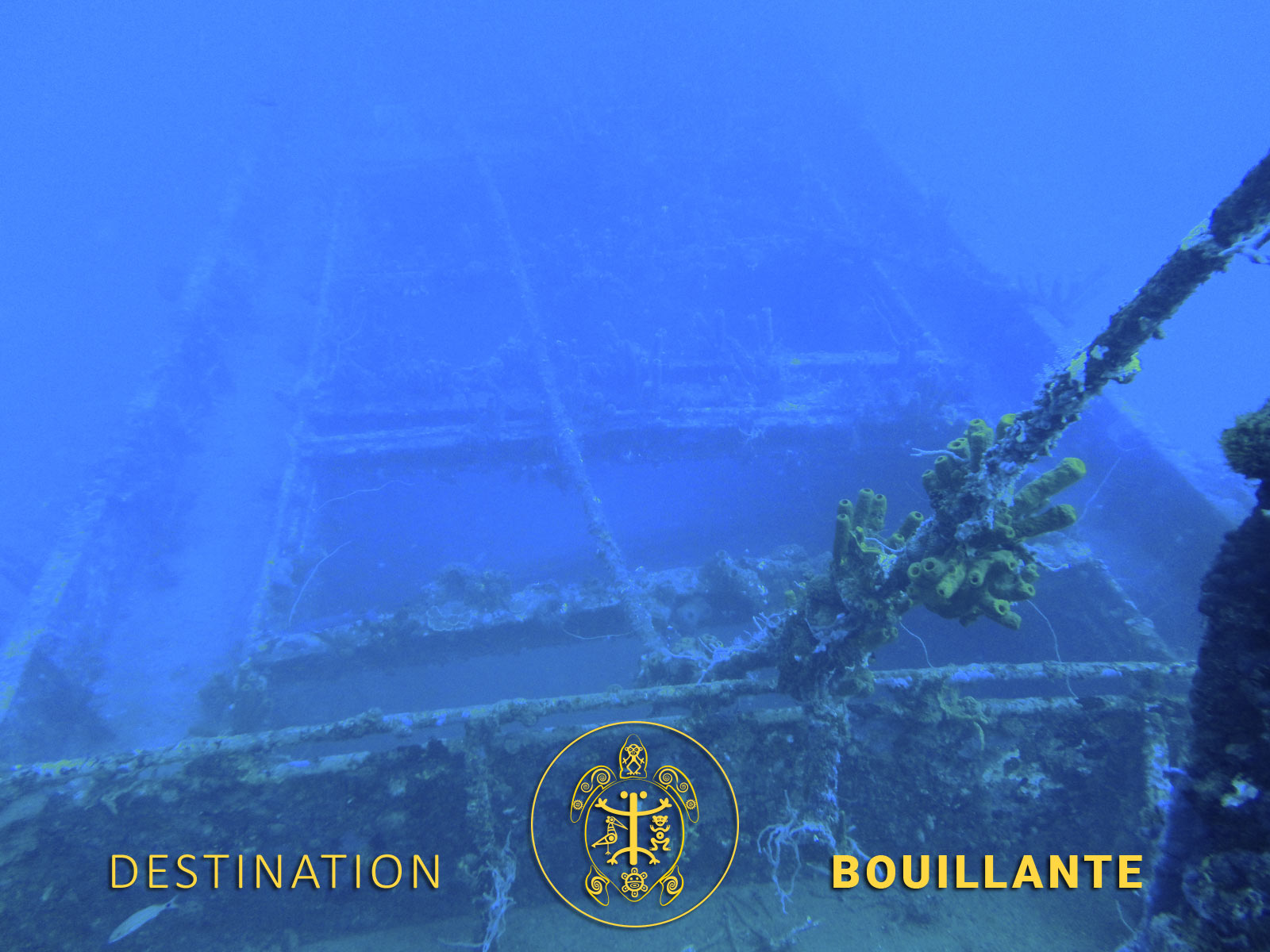 Epaves sous-marines - Gustavia