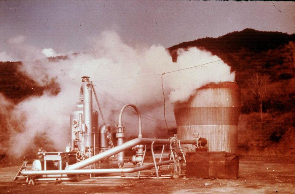 Bouillante 1 : premier moteur géothermique de France