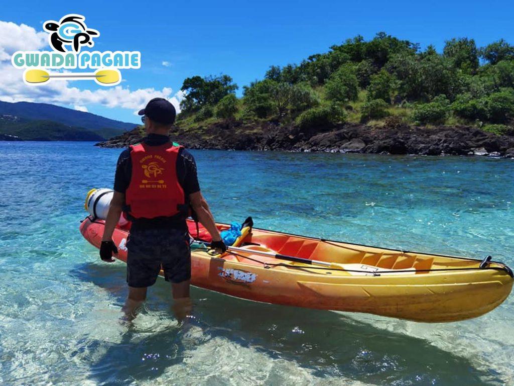 Gwadapagaie – location de kayak pour la Réserve Cousteau