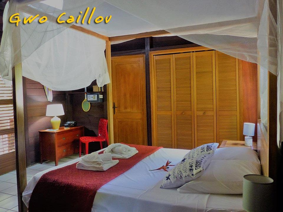 Gwo Caillou - Chambre double