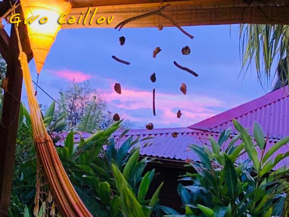 Gwo Caillou - Coucher de soleil