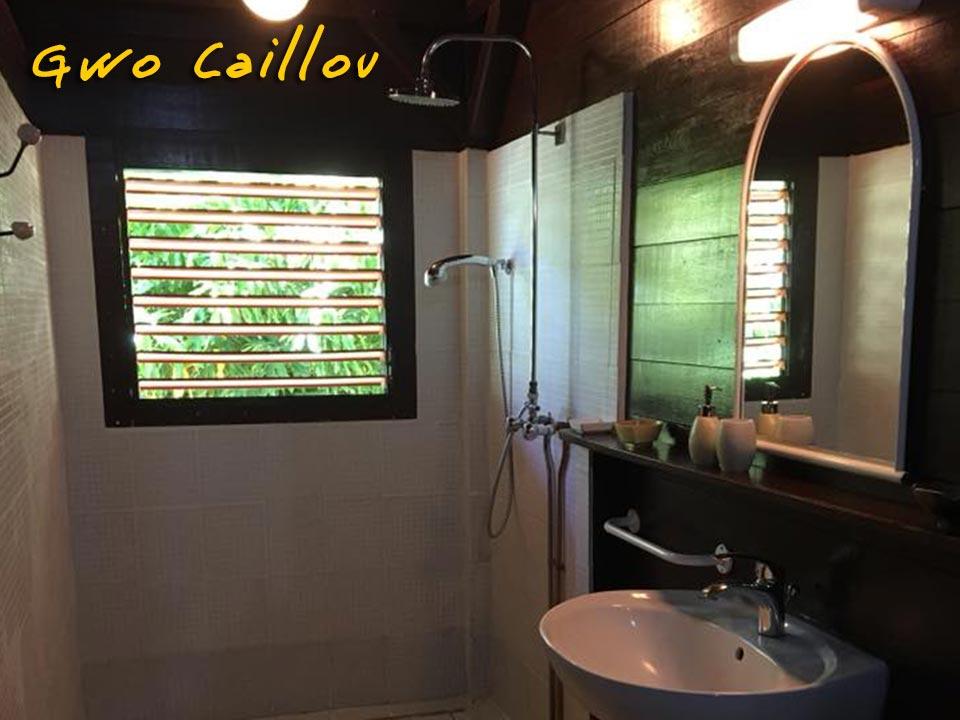 Gwo Caillou - Salle d'eau