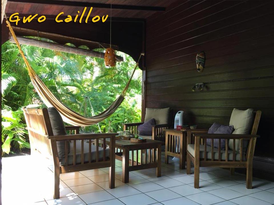 Gwo Caillou - Salon en terrasse