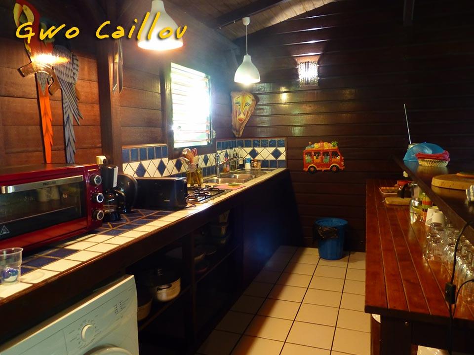 Gwo Caillou - Cuisine équipée