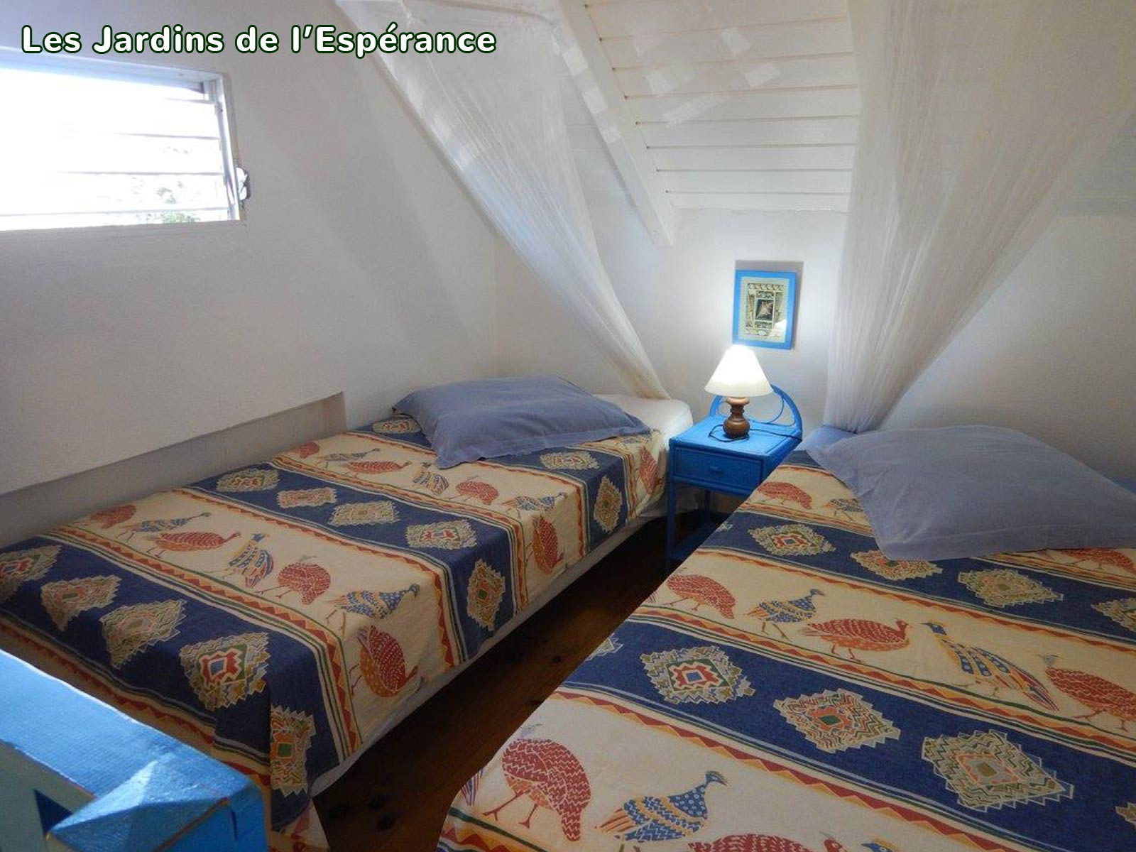 Les Jardins de l'Espérance - Chambre deux lits