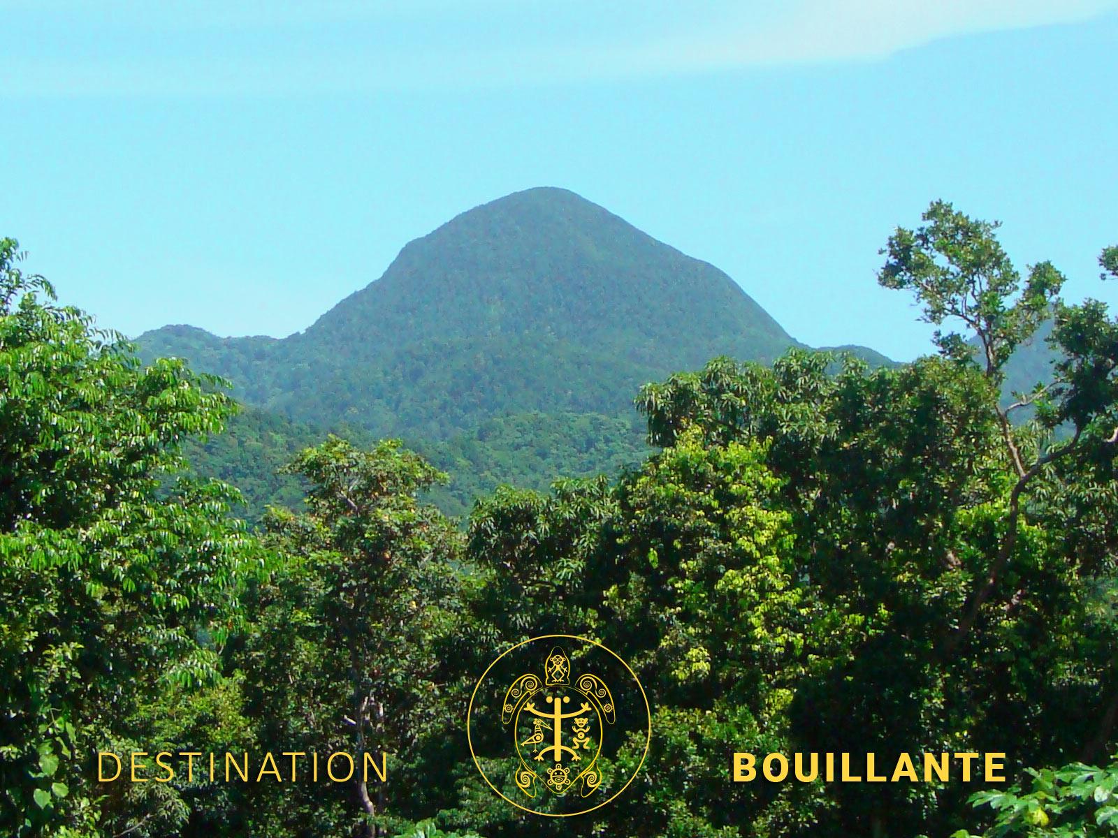 Mamelle de Pigeon - ancien volcan de Bouillante