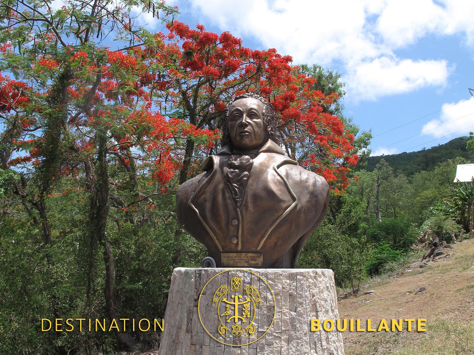 Buste de Victor Schoelcher - Bouillante