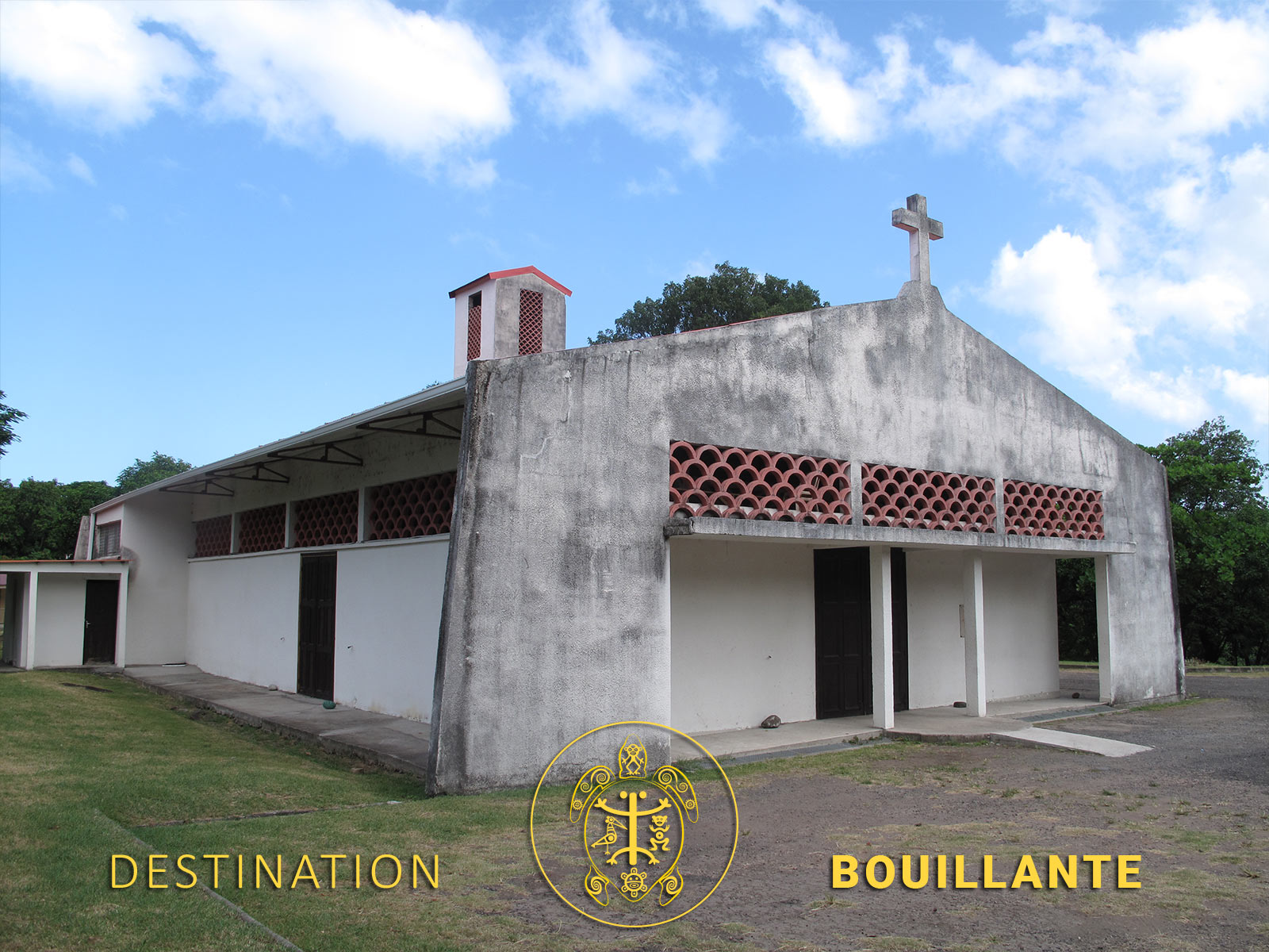 Eglise de Pigeon - Bouillante