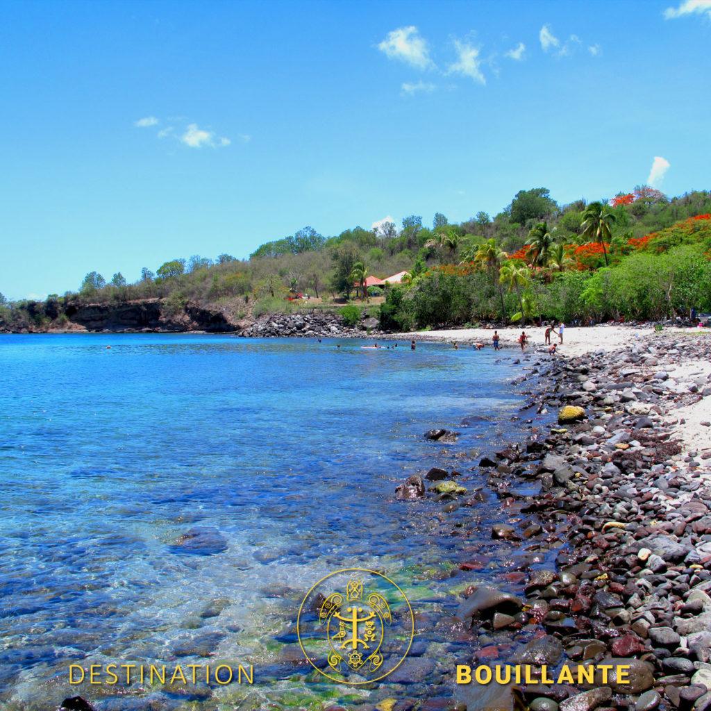 Plage de Bouillante en Guadeloupe