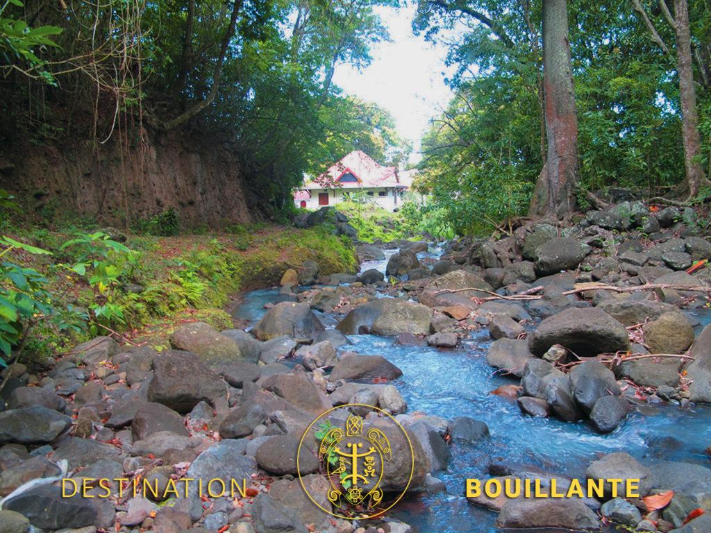 Source chaude dde la Rivière de Bouillante