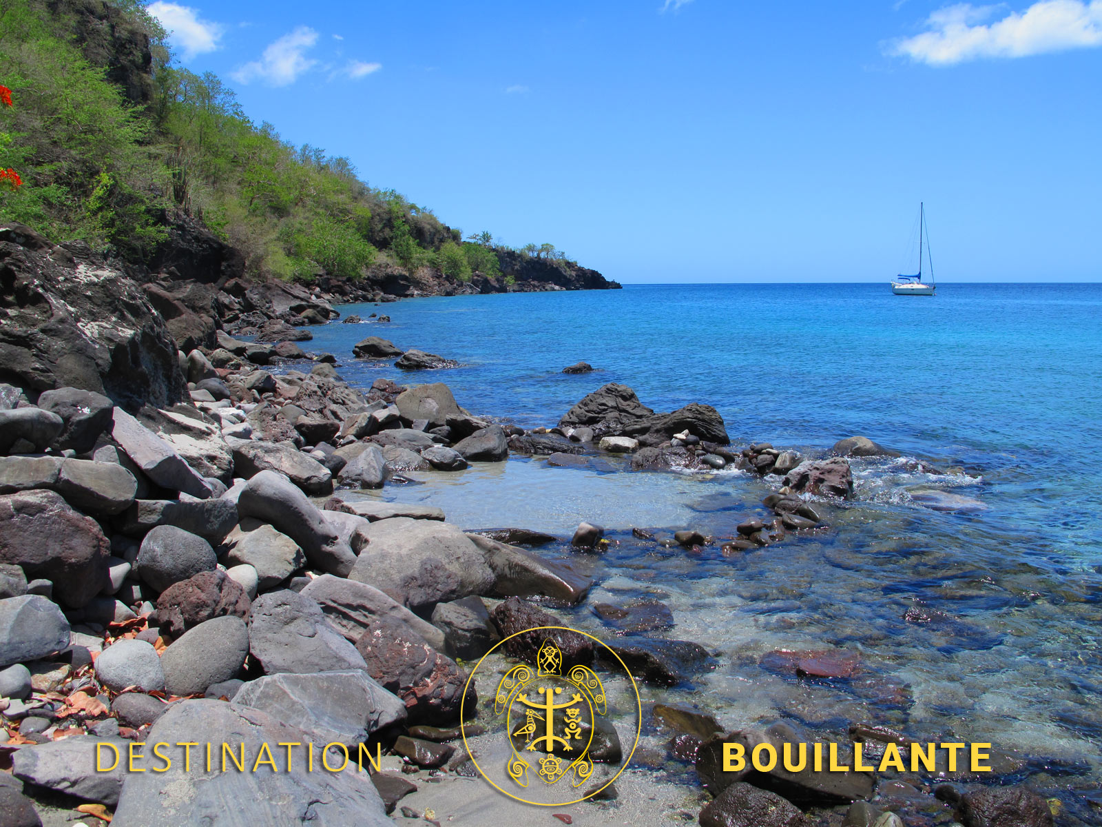 Source chaude de Petite-Anse