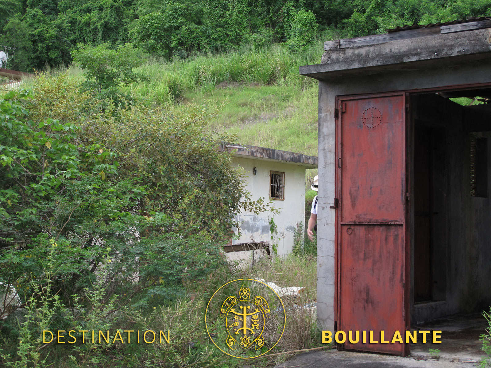 Source chaude de Vanier - Bouillante