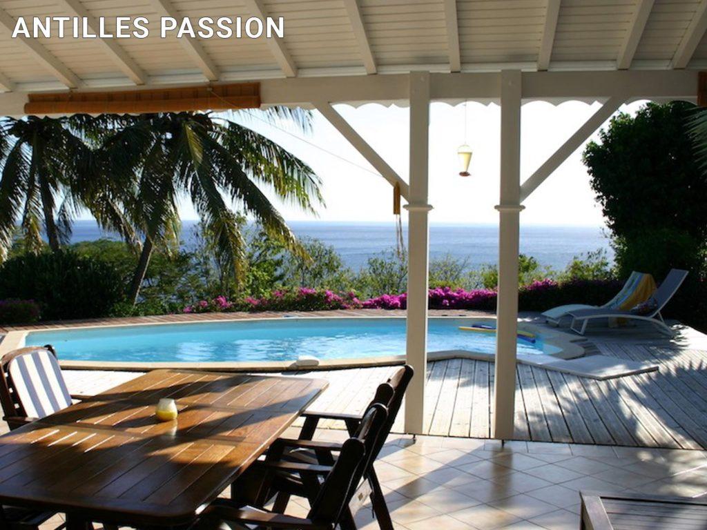 Antilles Passion – Piscine de villa
