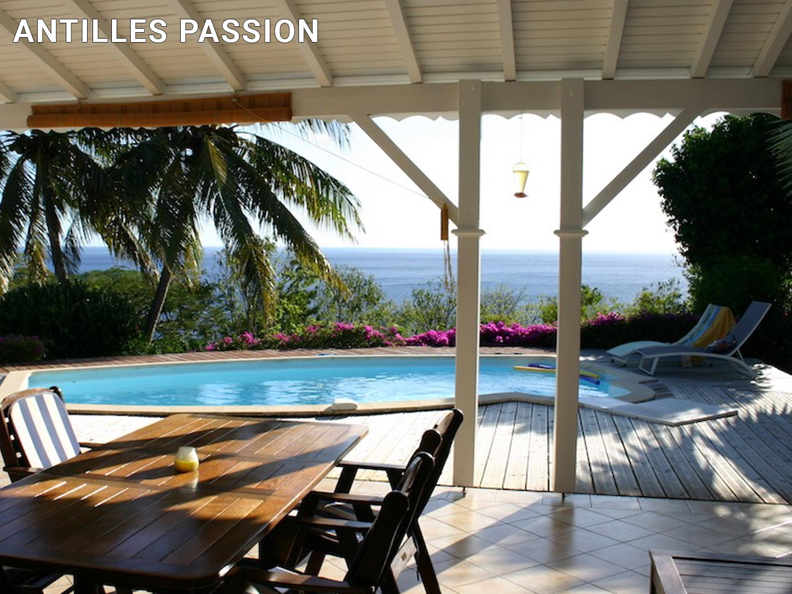Antilles Passion - Piscine de villa