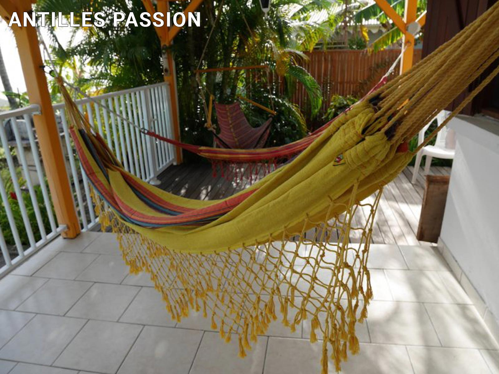 Antilles Passion - Terrasse