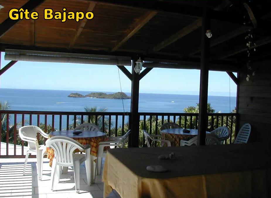 Gîte Bajapo – Terrasse individuelle