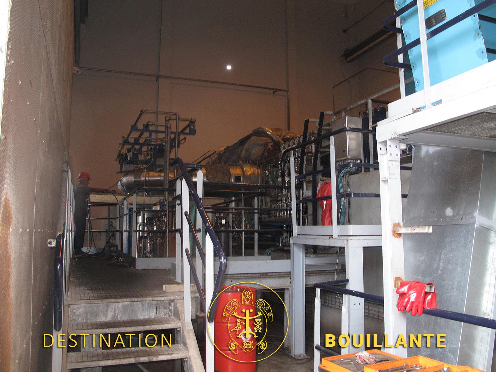 La centrale géothermique de Bouillante