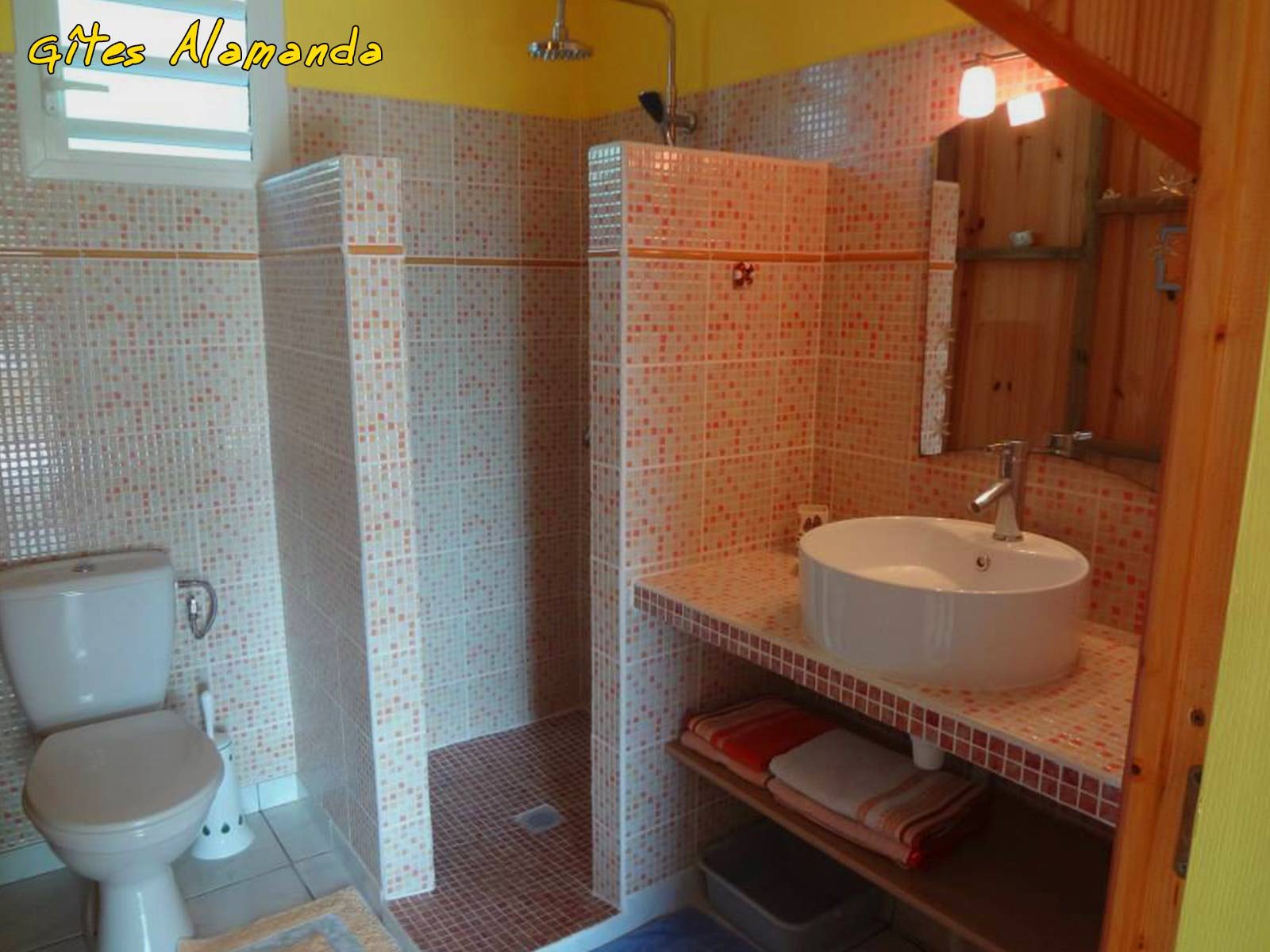 Gîte Alamanda - Salle d'eau