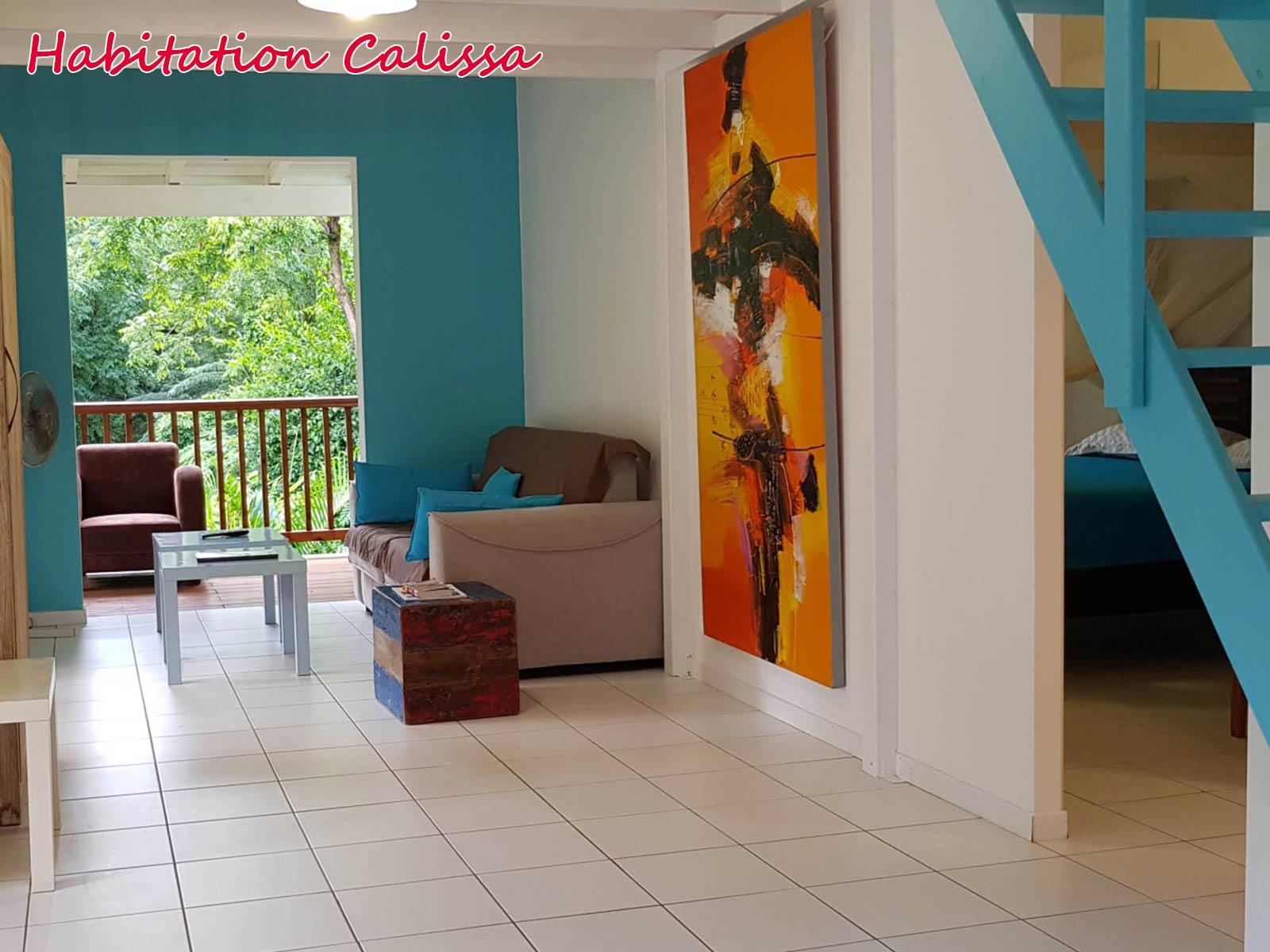 Habitation Calissa - Salon intime