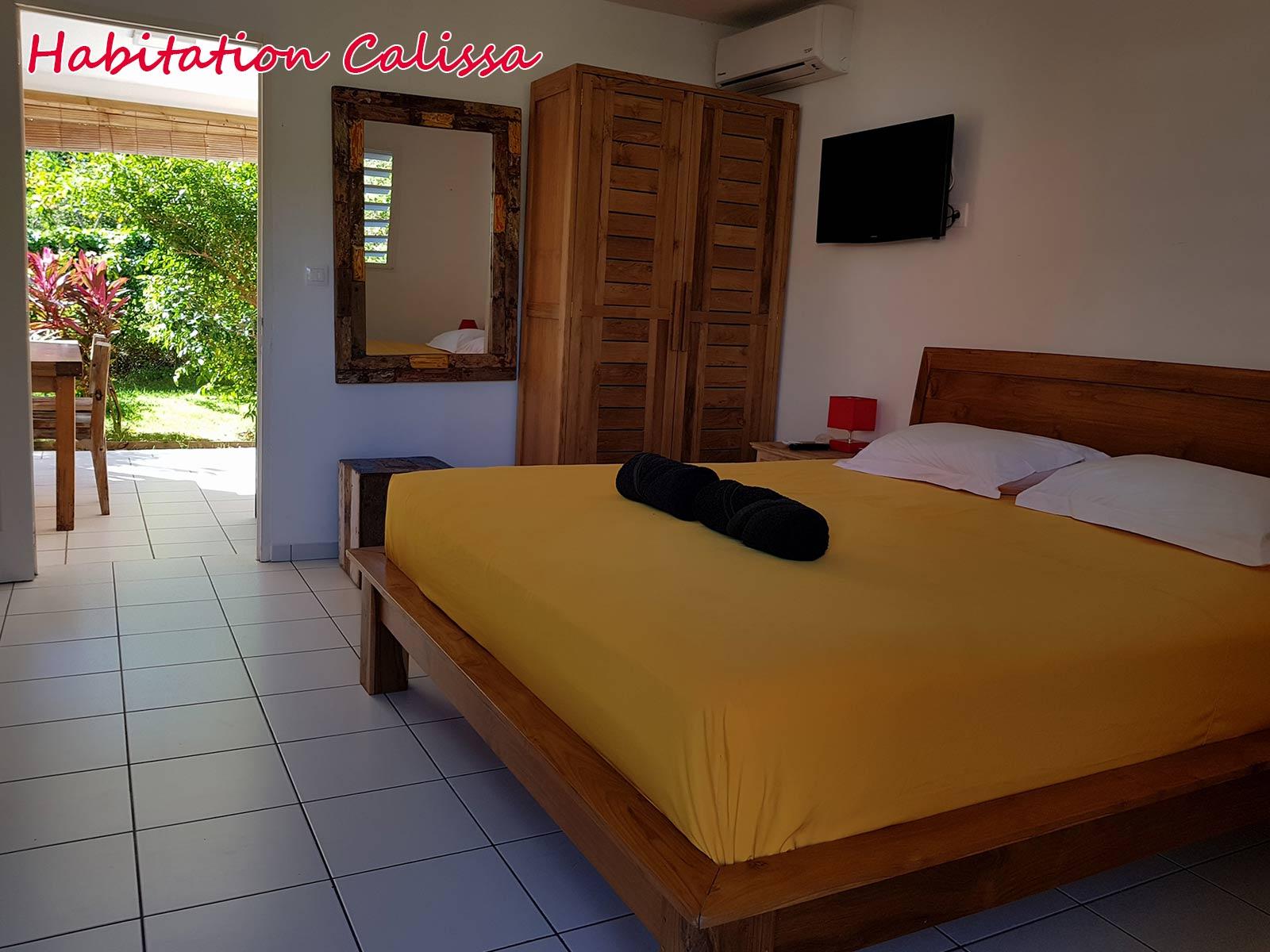 Habitation Calissa - Chambre double
