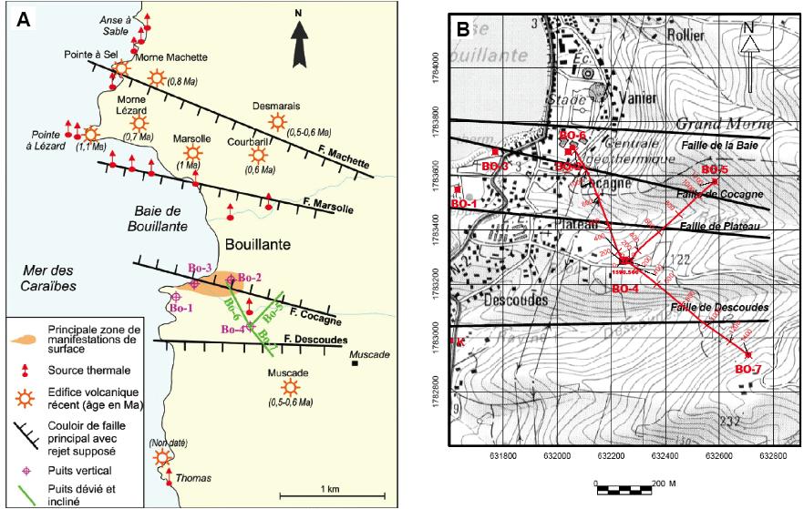 Géologie de Bouillante