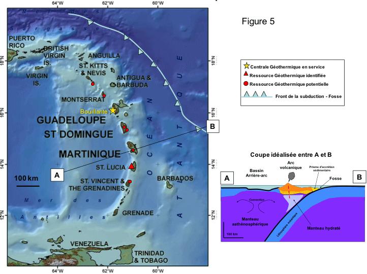 Géologie de la Caraïbe