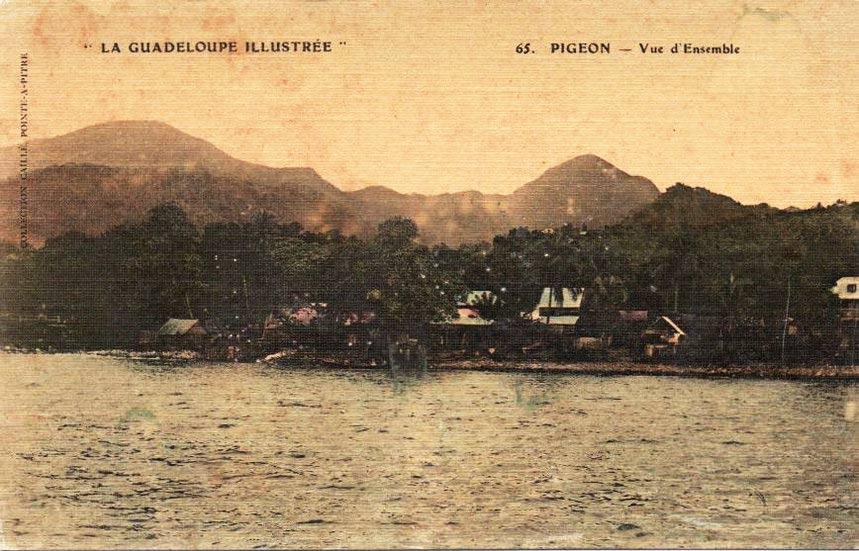 Bord de mer de Pigeon - Bouillante
