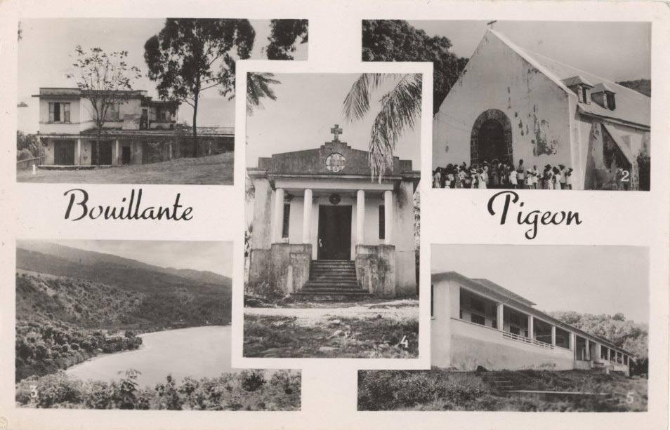 Bourg de Bouillante bâtiments des années 1920
