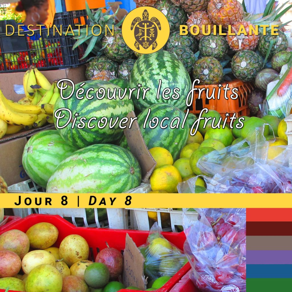 Fruits et légumes de Guadeloupe
