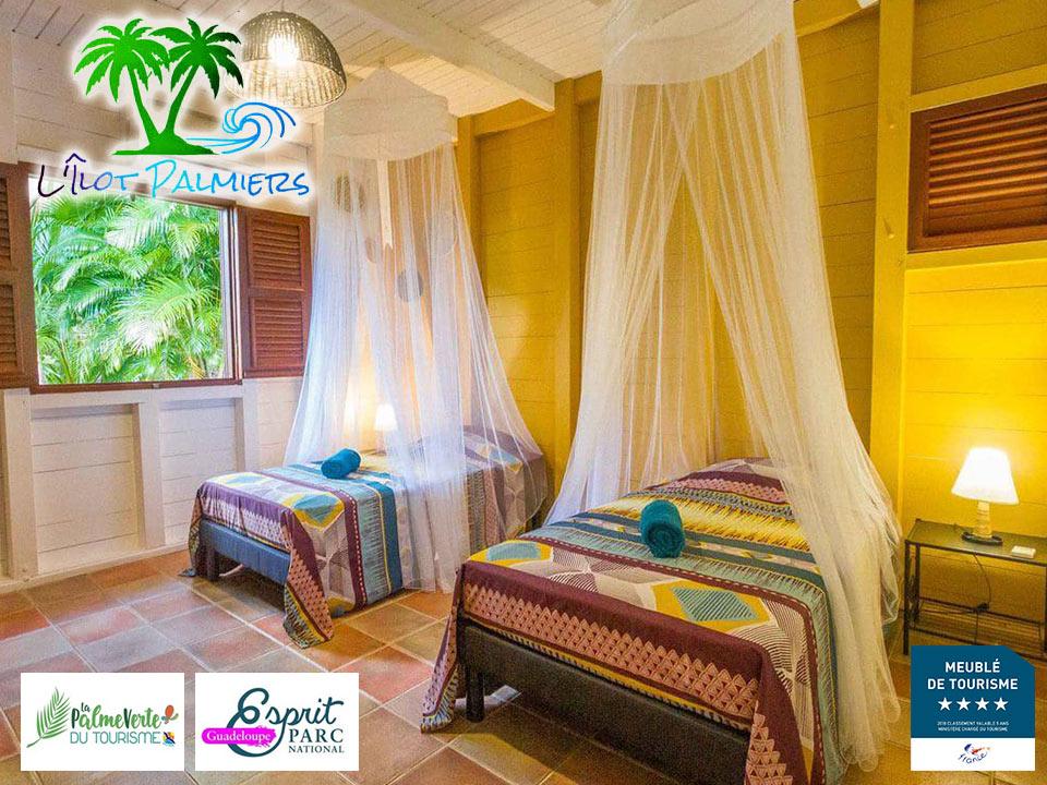 Gîte L'Ilot Palmiers - Villa Twa Karet