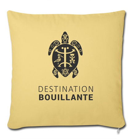 Coussin Destination Bouillante