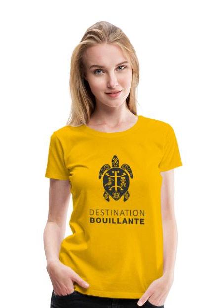 T-shirt femme Destination Bouillante