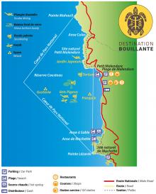 Carte Réserve Cousteau
