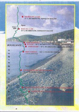 Composition des eaux de Bouillante